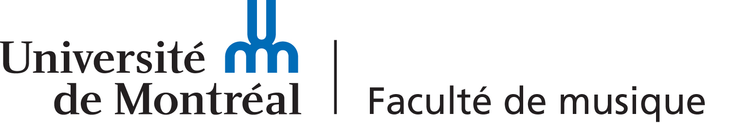 Logo of the Faculty of music of the Université de Montréal