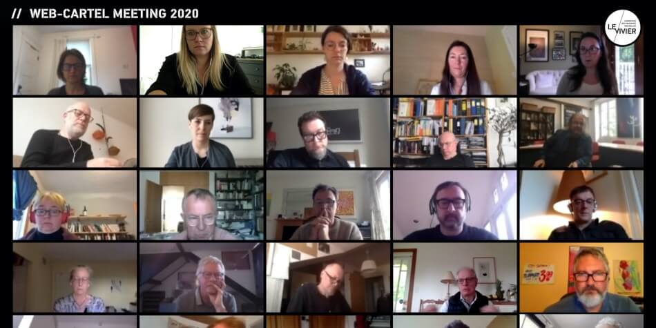 Photo des participants au Web-Cartel meeting