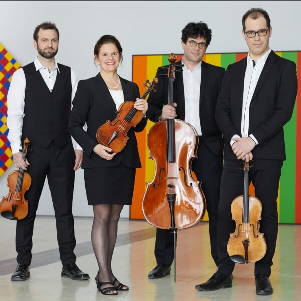 Photo of the Molinari quartet
